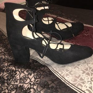 RUE 21 Lace up heels
